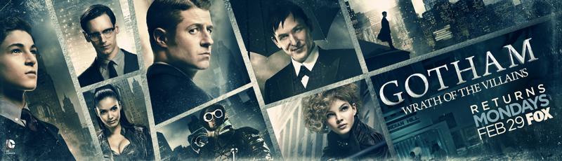 Nieuwe banner voor Gotham tweede deel seizoen 2