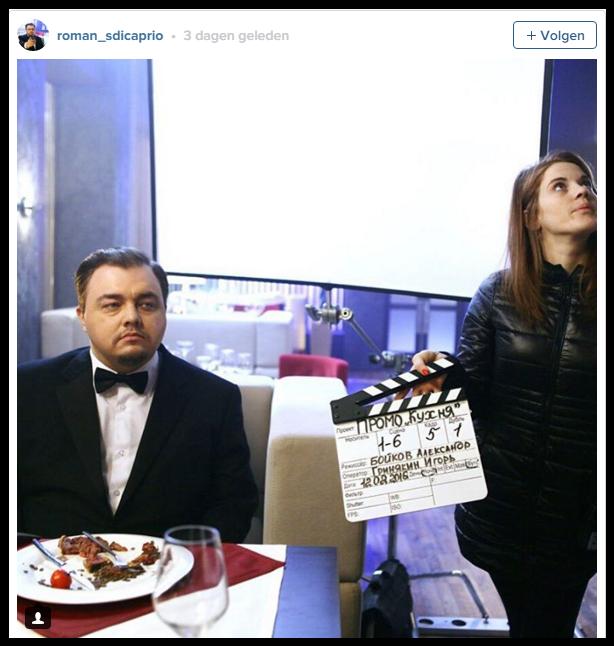 Russische Leonardo DiCaprio dubbelganger krijgt show