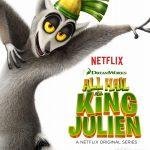 Poster Madagascar spin-off All Hail King Julien