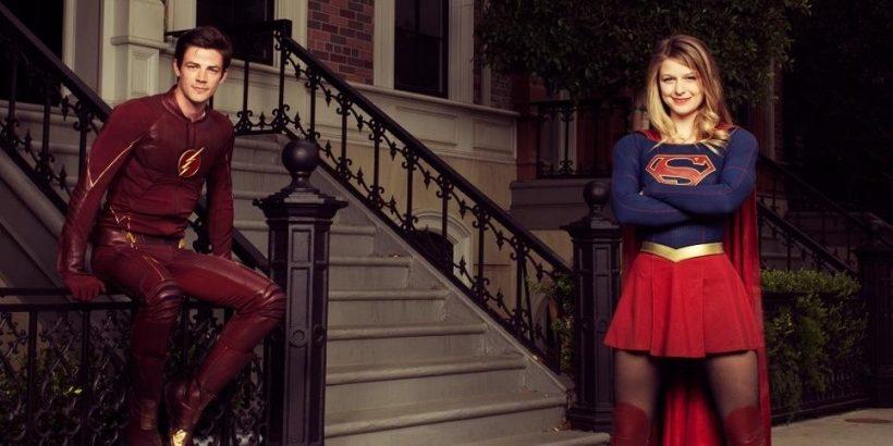 teeveehoek the flash en supergirl