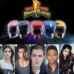 Power Rangers cast compleet