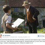 Nieuwe foto Ian Mckellen als Sherlock in Mr. Holmes