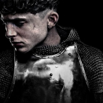Timothée Chalamet als King Henry V op The King poster