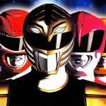 De rode, blauwe en zwarte Power Rangers gecast