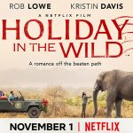 Kristin Davis en Rob Lowe in trailer voor Holiday in the Wild