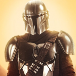 Personage posters voor Star Wars serie The Mandalorian