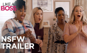Like A Boss met Tiffany Haddish, Rose Byrne en Salma Haye
