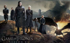 Game of Thrones seizoen 8 Blu ray