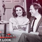Eerste blik op Elizabeth Olsen & Paul Bettany in WandaVision