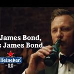 Daniel Craig blijft altijd James Bond in nieuwe Heineken promo