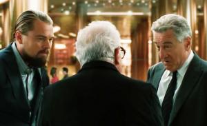 Leonardo DiCaprio en Robert De Niro