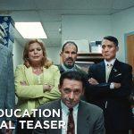 Teaser voor HBO-film Bad Education met Hugh Jackman