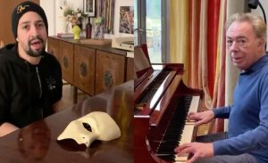 Lin-Manuel Miranda en Andrew Lloyd Webber
