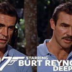 Burt Reynolds als James Bond in Dr. No deepfake-video