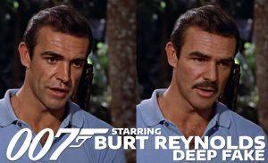 Burt Reynolds als James Bond in Dr. No