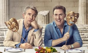 The Trip to Greece met Steve Coogan en Rob Brydon