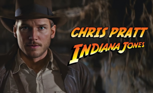 Chris Pratt als Indiana Jones