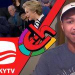 Amerikaanse Colton Hunt kijkt LuckyTV