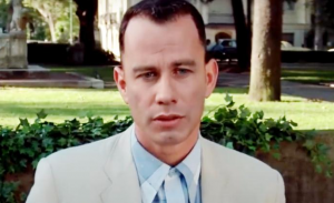 John Travolta is Forrest Gump