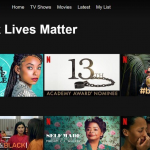 Netflix lanceert categorie Black Lives Matter