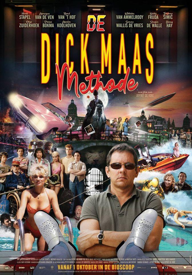 Poster van de Dick Maas Methode