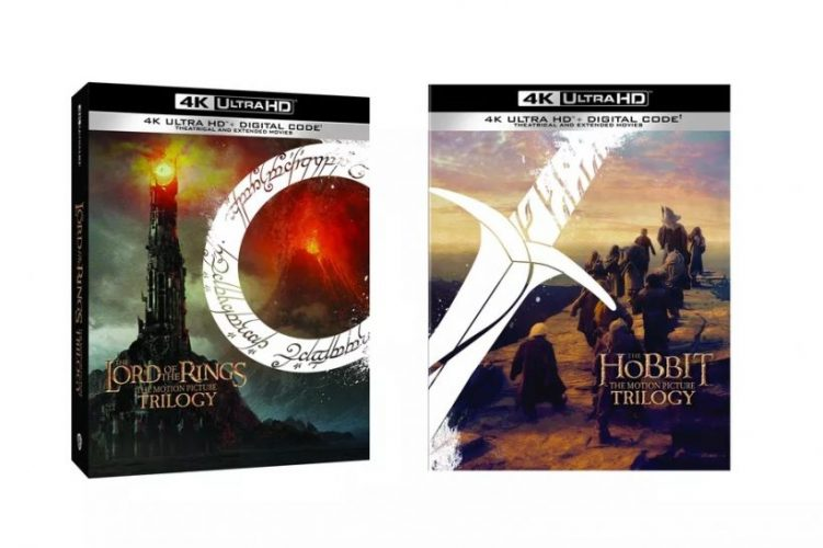 The Lord of the Rings en The Hobbit 4K
