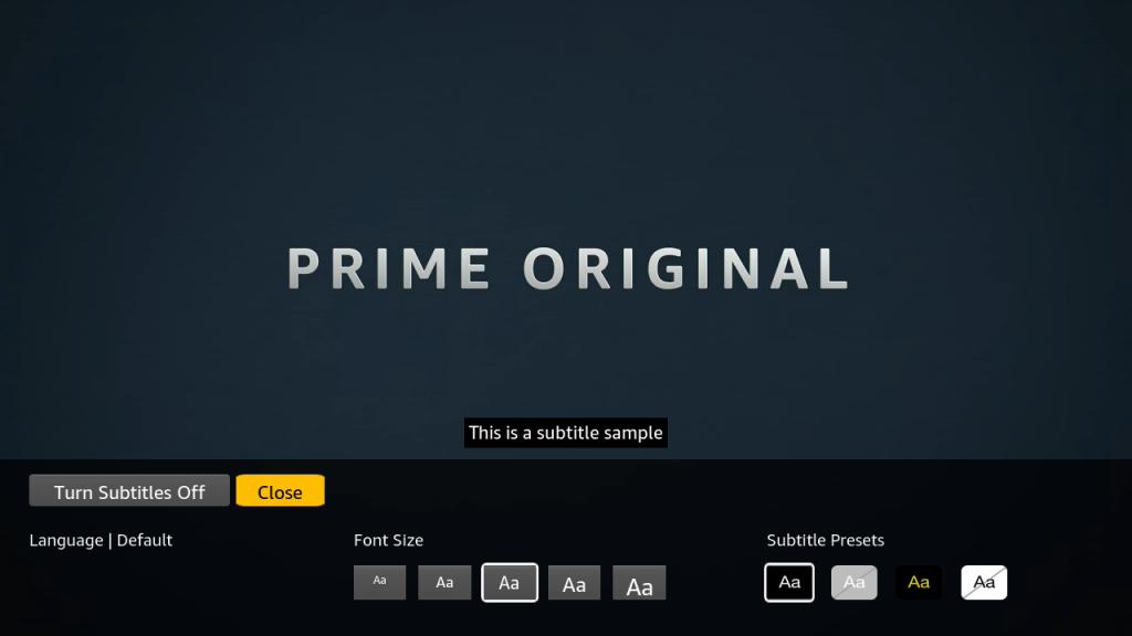 amazon prime nederland ondertiteling