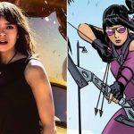 Hawkeye setfoto's onthullen Hailee Steinfeld als Kate Bishop
