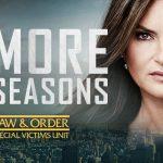 Law and Order: SVU verlengt met drie seizoenen