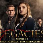 Legacies seizoen 2 is vanaf 13 januari beschikbaar op DVD