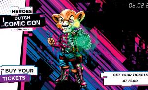 Heroes Dutch Comic Con Online