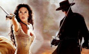 Vrouwelijke Zorro serie