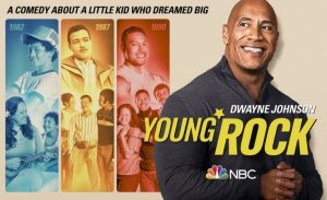 Young Rock trailer