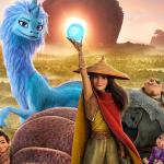 Poster voor Disney-film Raya en de Laatste Draak