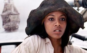 Zoe Saldana in Pirates of The Caribbean