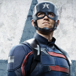 Poster voor Captain America uit The Falcon and the Winter Soldier