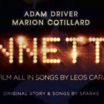 Trailer voor muzikaal drama Annette met Adam Driver & Marion Cotillard