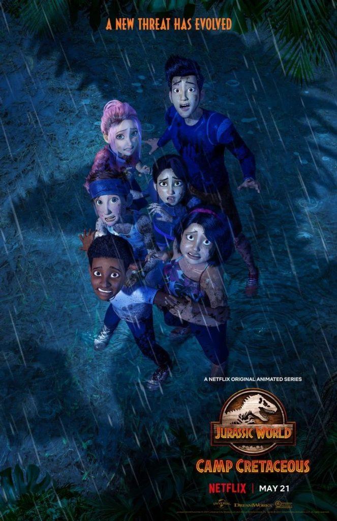 Jurassic World: Camp Cretaceous seizoen 3