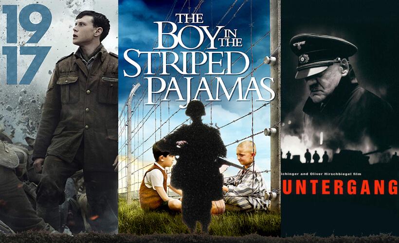 12 Beste oorlogsfilms omslagfoto