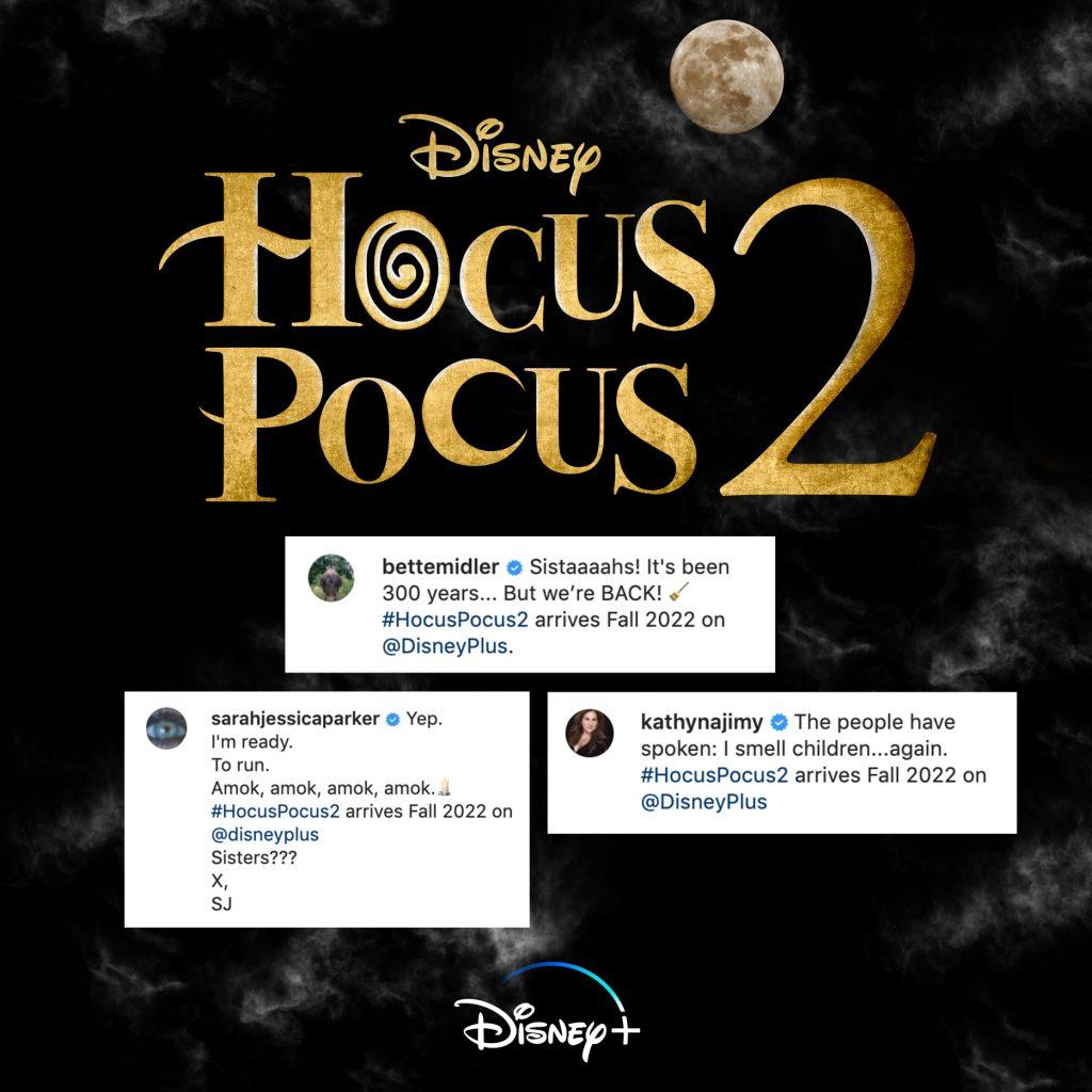 Hocus Pocus 2 releasedatum