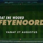 Dat Ene Woord: Feyenoord vanaf 27 augustus op Disney Plus Star