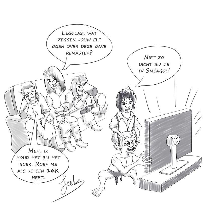 4K - Ja of Nee? | Overstappen naar UHD films (Sandro Algra) - The Lord of the Rings