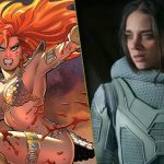Hannah John-Kamen hoofdrol in Red Sonja film