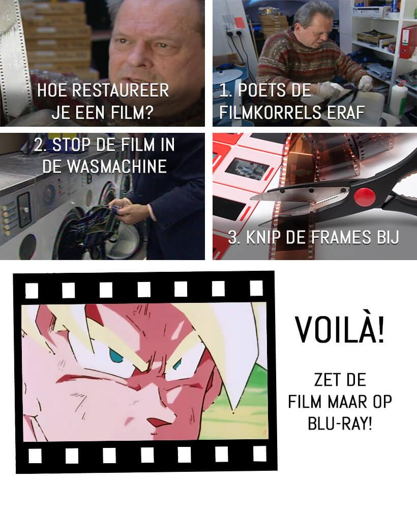 Film remasters - Hoe restaureer je een film?