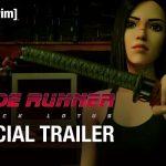 Eerste Blade Runner: Black Lotus trailer verschenen