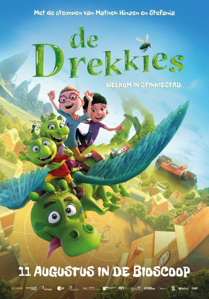 De Drekkies in Stinkstad vanaf 11 augustus in de bioscoop