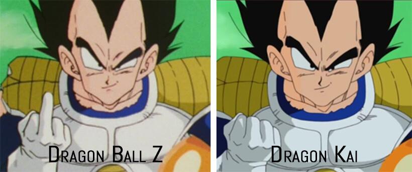 Dragon Ball in 4K 2 - Dragon Ball Kai