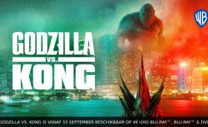 Godzilla vs Kong blu ray