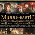 The Middle Earth 4K Ultra HD Ultimate Collection verschijnt oktober 2021