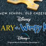 Poster voor Disney Plus animatiefilm Diary of a Wimpy Kid